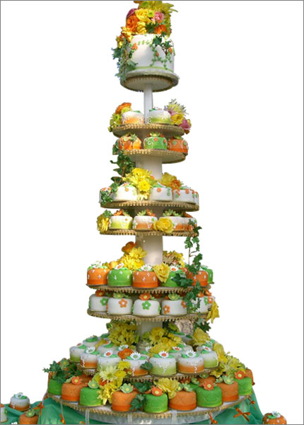 Top 10 Unusual Wedding Cakes